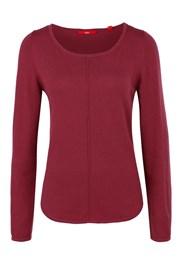 Женский однотонный свитер s.Oliver