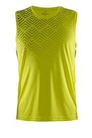 Мужская функциональная футболка Scampolo Craft Mind желтая