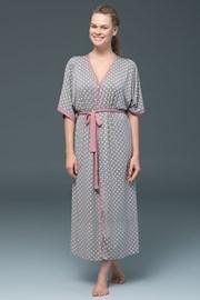 Женский халат Rose Dots - модаль