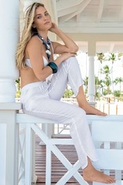 Летние льняные брюки из коллекции Iconique 681KA