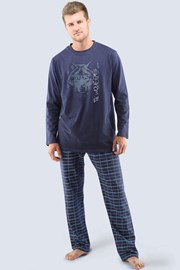 Мужская пижама Wolf eyes - с длинными рукавами