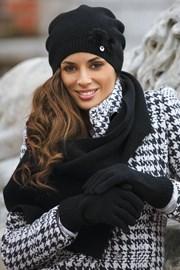 Женский шарфик Abella Black