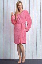 Женский халат Alba Pink из бамбукового материала