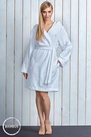 Женский халат Alba White из бамбукового материала