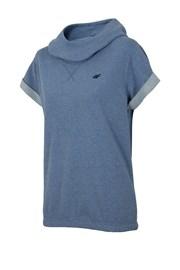 Женская модная толстовка с короткими рукавами Blue