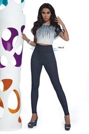 Женские леггинсы в джинсовом дизайне Blair