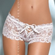 Кружевные боксерки Bloom shorts White