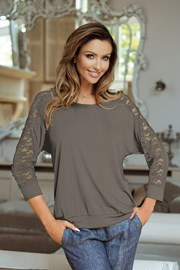 Женская блуза Celine Mocca