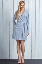 Женский хлопковый халат  ChaCha Grey