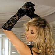 Перчатки Diana кружевные