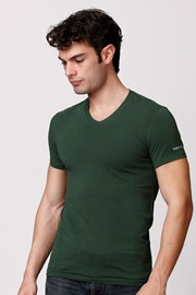 Мужская итальянская футболка Enrico Coveri ET1501 хлопковая