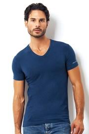 Мужская итальянская футболка Enrico Coveri 1501 Oceano