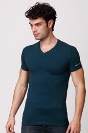Мужская итальянская футболка Enrico Coveri ET1501 Otanio хлопковая