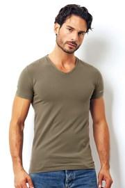 Мужская итальянская футболка Enrico Cover 1501i Salvia