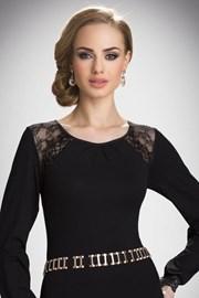 Женская блуза с кружевной вышивкой Hilary
