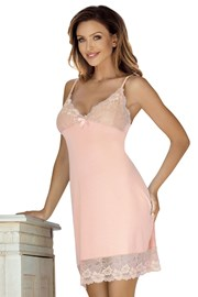 Элегантная сорочка Holy персиковая