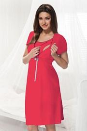 Сорочка для беременных и кормящих мам Dorota малиновая