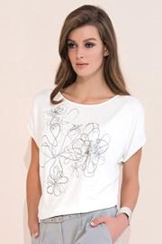 Женская роскошная футболка Kore с принтом