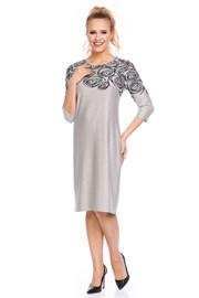 Женское элегантное платье Livia Beige
