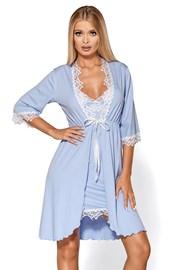 Элегантный халат Madlen blue