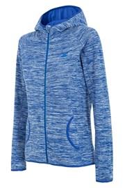Женская спортивная фллисовая толстовка Blue