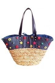 Пляжная сумка Perla Navy
