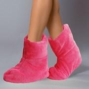 Теплые тапочки Pink