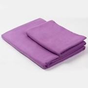Функциональное полотенце и полотенечко фиолетовое
