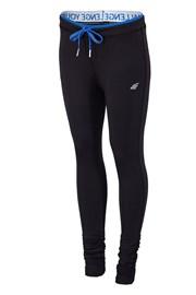 Женские спортивные леггинсы 4f Black