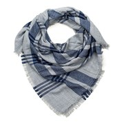 Женский клетчатый шарфик Blue