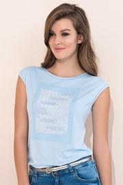 Женская элегантная футболка Scarlet Blue