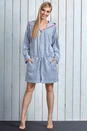 Женский хлопковый халат Sue Pink