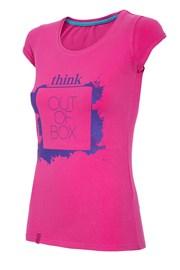 Женская спортивная футболка Think out of box