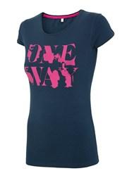 Женская спортивная футболка 4f OneWay Navy