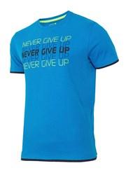 Мужская спортивная футболка Never give up