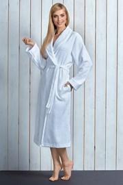 Женский халат Tracy White из бамбукового волокна
