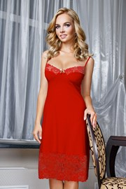 Элегантная сорочка Valeria Red