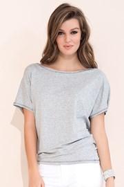 Женская элегантная футболка Zafira Grey