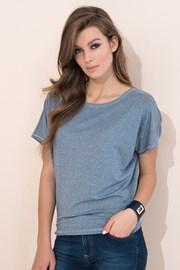 Женская однотонная футболка Zafira Grey