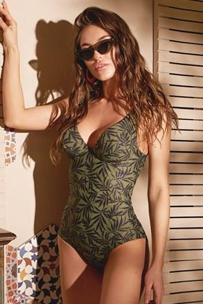 Жіночий суцільний купальник Green nature