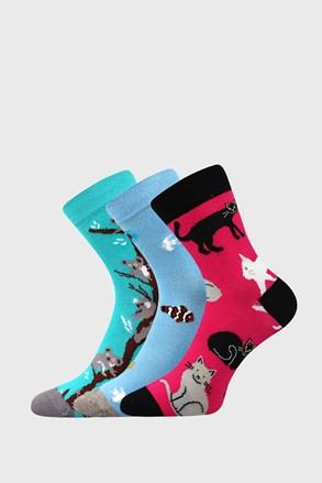 3 ПАРИ шкарпеток для дівчинки Animals