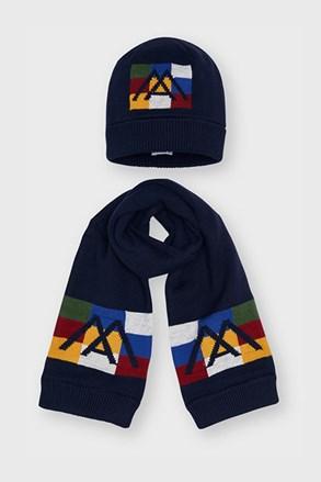 Комплект шапки і шарфа для хлопчиків Mayoral