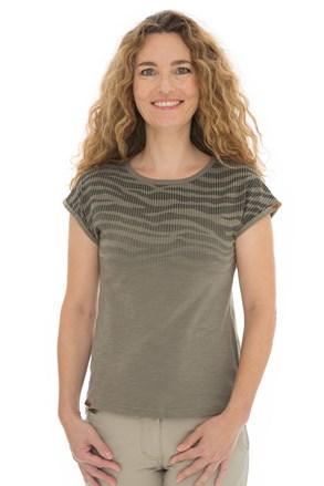 Жіноча хакі футболка Bushman Kira