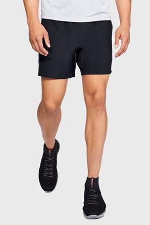 Чорні шорти для бігу Under Armour