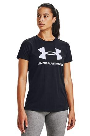 Чорна футболка Under Armour Live
