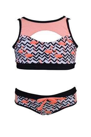 Роздільний купальник для дівчаток Flamingo