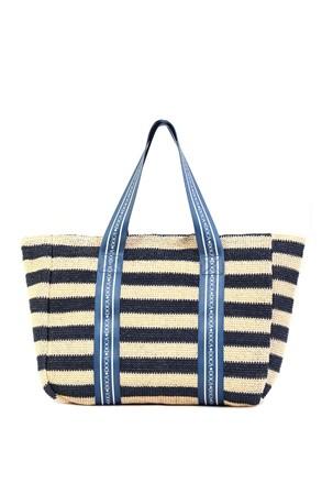 Жіноча пляжна сумка Elle синя