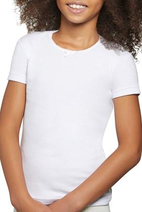 Бавовняна футболка для дівчаток Simple