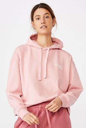 Жіночий рожевий світшот