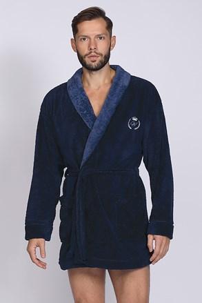 Темно-синій халат Professor BJ